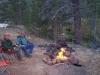 Guys around a Campfire